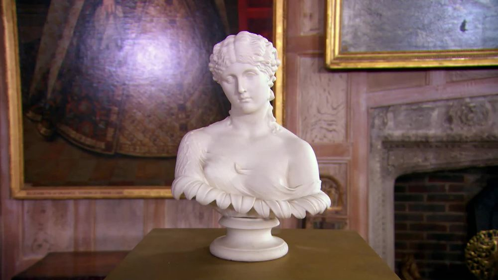 Parian bust by John Bell. £400 | The Swan | www.theswan.co.uk