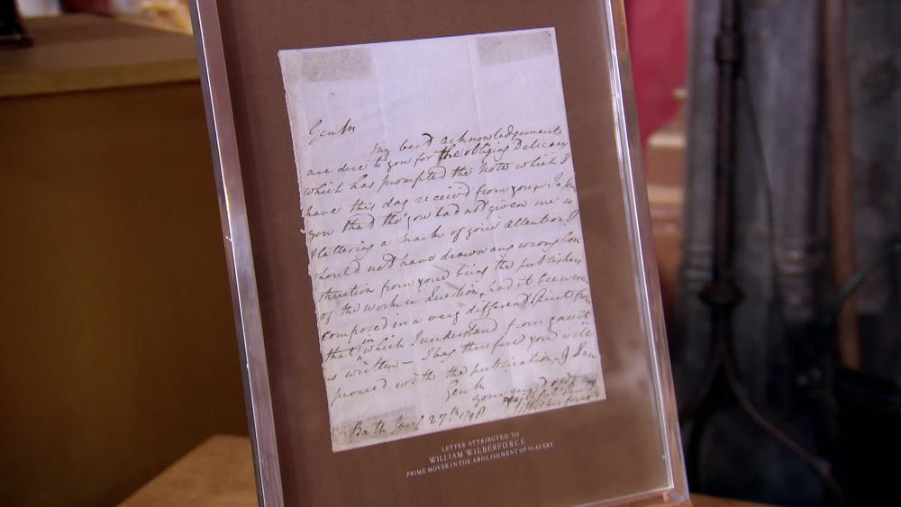 William Wilberforce letter. £400 | Private Collection