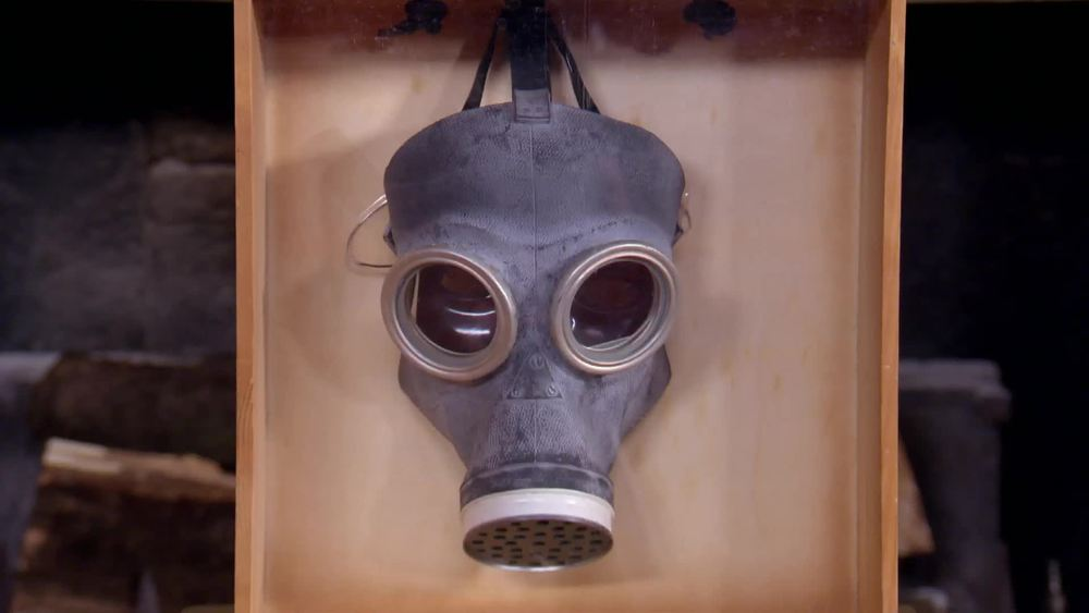 Dr. Who Gas Mask featured in the 2005 Dr. Who episode 'The Empty Child'. £3000 | The Who Shop | www.thewhoshop.com
