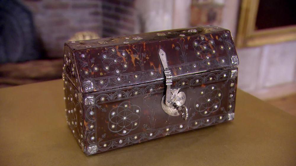 Tortoise Shell Casket. £19,500 |Mayflower Antiques |www.mayflower-antiques.co.uk