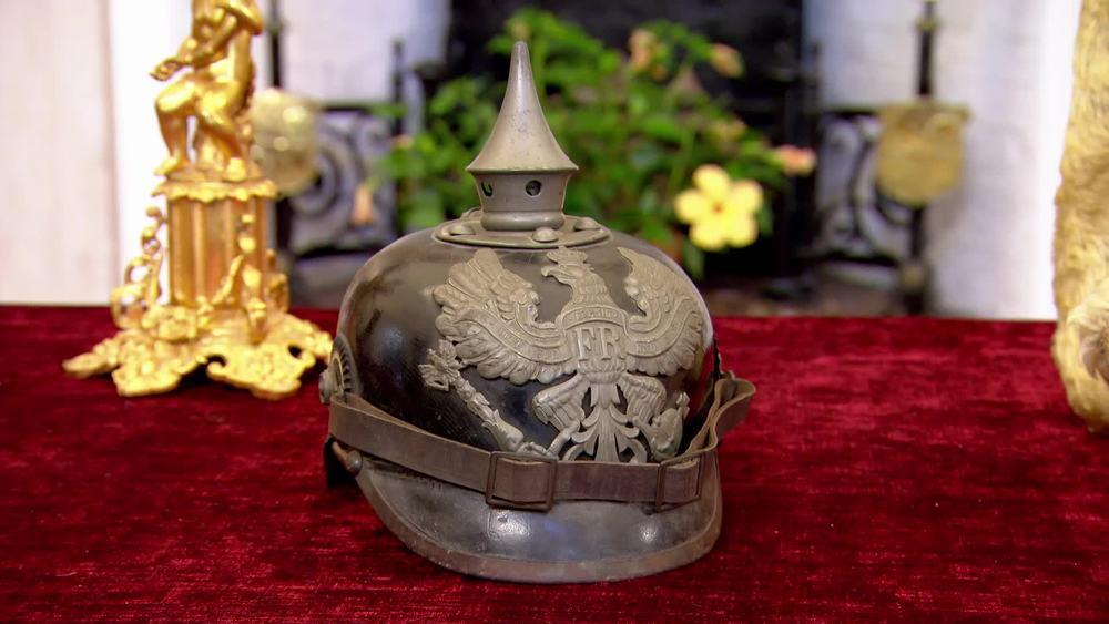 Prussian wartime helmet 1915. £450 | London Medal Company |www.london-medals.co.uk