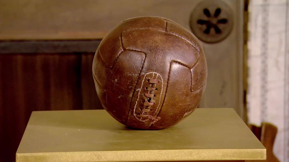 A vintage football. £50 | Private Collection