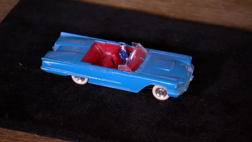 Unboxed Ford Thunderbird French S. African Dinky. £1500 | Diecast Gems | www.diecastgems.com