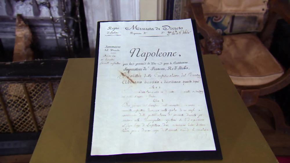 Minute of Decree Signed 'Napoleon' as King of Italy. £1750 | Sophie Dupre | www.sophiedupre.com