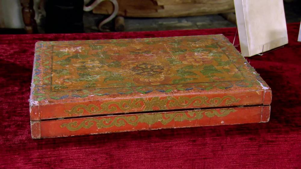 Tibetan surgeon's instrument set 1900. £1000 | Private Collection