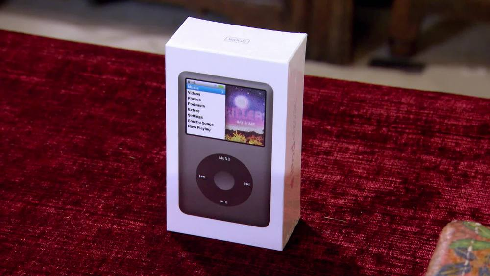 iPod 7th Generation, still sealed in box. £500 | Private Collection