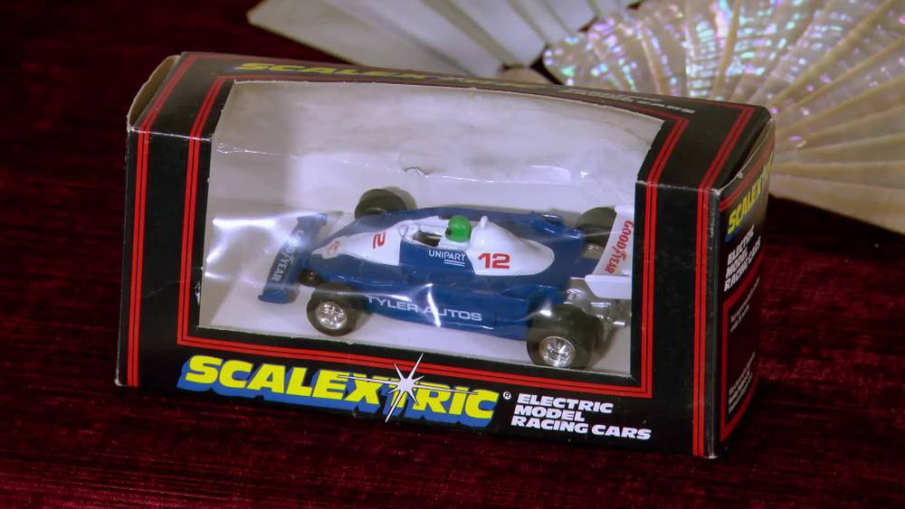 Formula 3 Scalextric race car circa 70s/80s. £20 | Private Collection