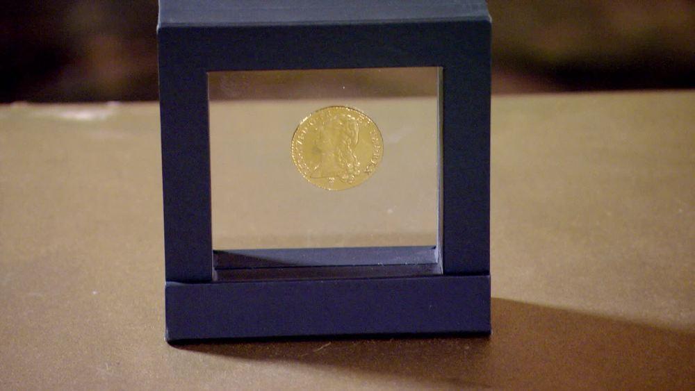 A 1789 Louis 16th gold double Louis d'or. £800 | Baldwins |www.baldwin.co.uk
