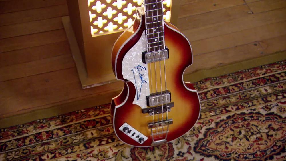 Paul McCartney Signed Guitar. £10,000 |Autografica|www.autografica.co.uk