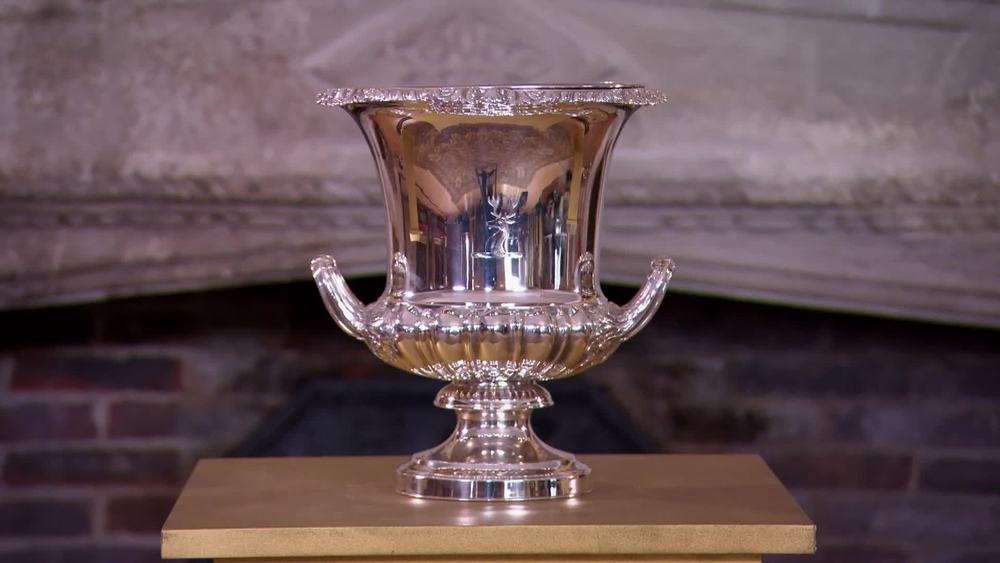Old Sheffield plate wine cooler made circa 1820 by Matthew Boulton. £1990 |I Franks |www.ifranks.com