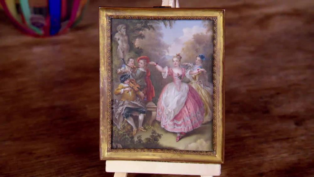 An 18th century portrait miniature. £900 | Private Collection