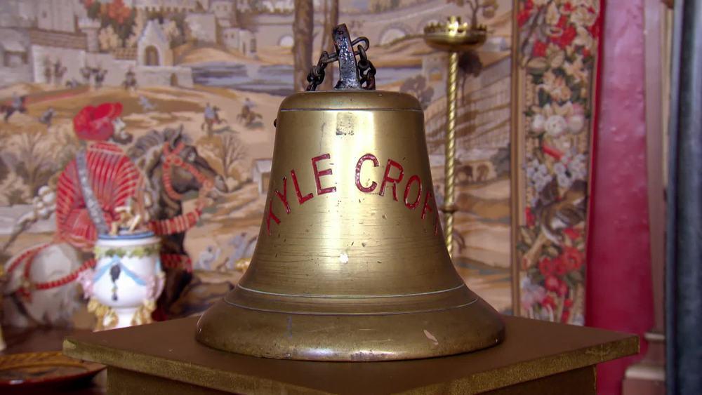1937 Steamship Kyle- Croft large cast bronze bell. £650 | Parade Antiques |www.paradeantiques.co.uk