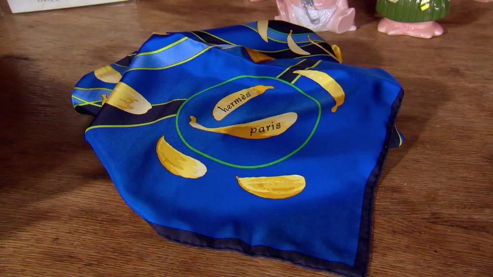 Hermes silk scarf. £250 | Private Collection