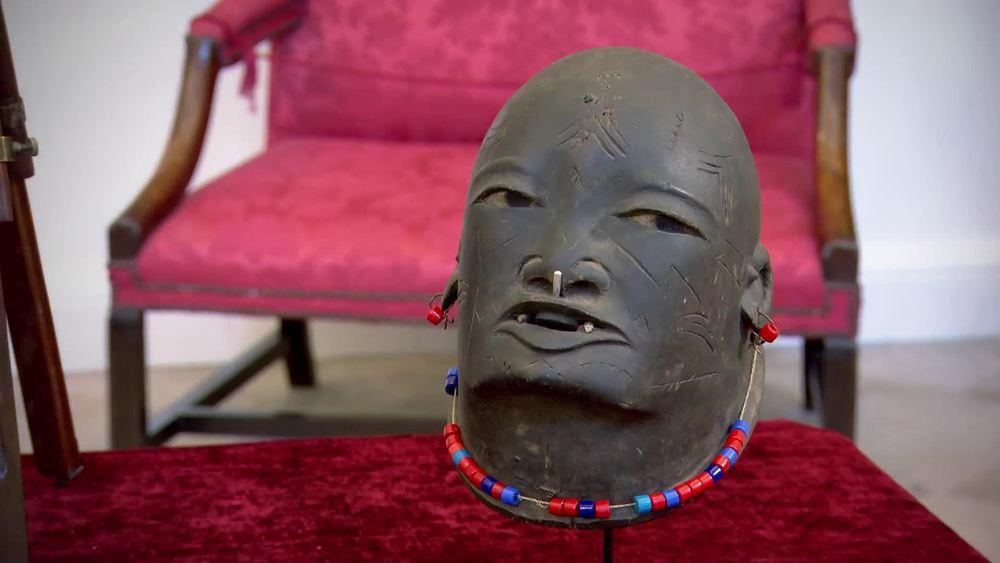 Makonde 'Lipiko'dance mask 1930s-1950s. £1250 |Tribal Gathering |www.tribalgatheringlondon.com