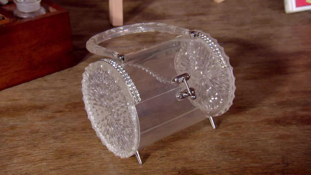 Lucite handbag. £450 | Circa Vintage |www.circavintage.com
