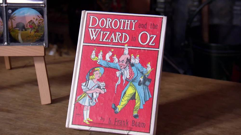 Dorothy and the Wizard of Oz. C.1960. £30 | George Bayntun Fine Bindings and Rare Books | www.georgebayntun.com