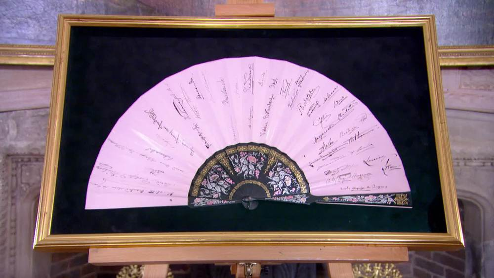 Queen Victoria Golden Jubilee Fan Signed By 42 members of the royal families of Europe. £47,500 | Sophie Dupre | www.sophiedupre.com