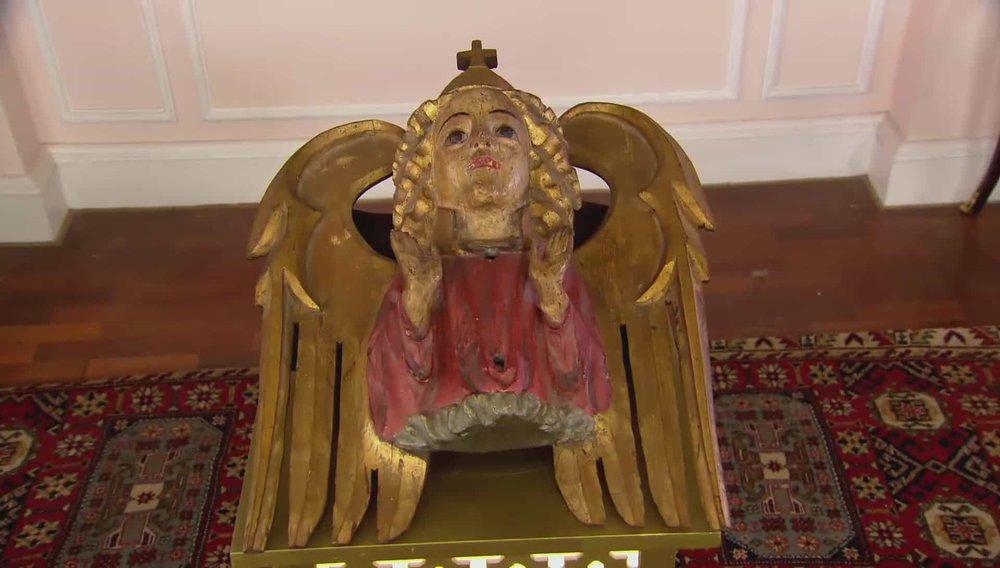 English Medieval Ceiling Boss Price:£22,000 Visit Paul Beedham website