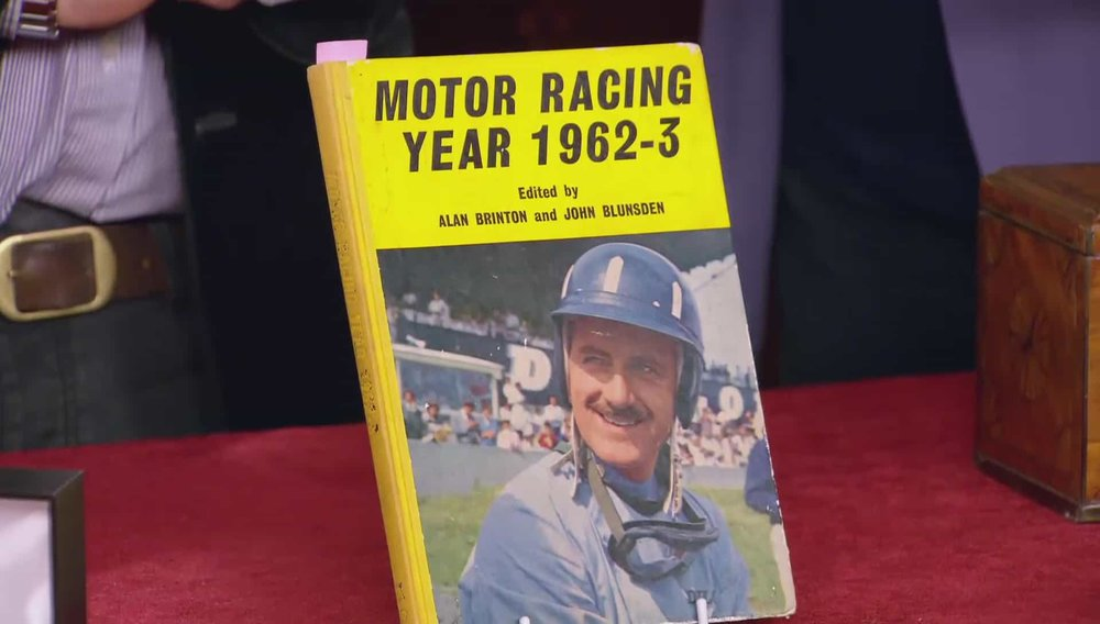 Motor Racing Book signed by Jim Clarke - F1 World Champion in 1963 Price: £850 Visit Autographs website
