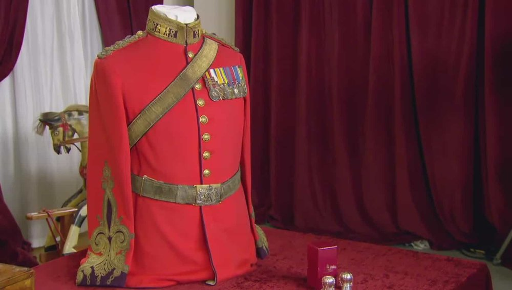 Mess Dress Price: £700 Visit Westminster Dragoons website