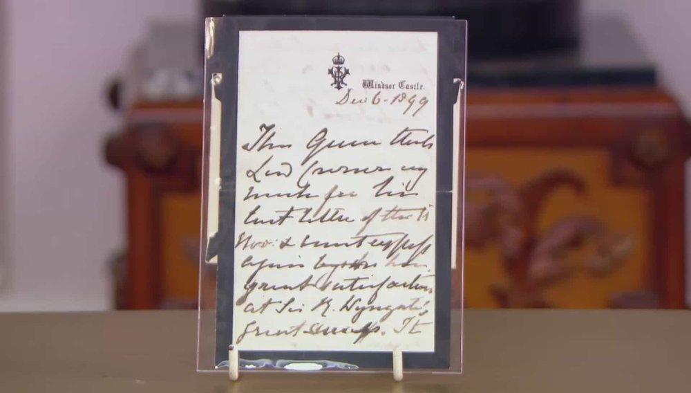 Queen Victoria Autograph Letter Price: £1,750 Visit Sophie Dupre website