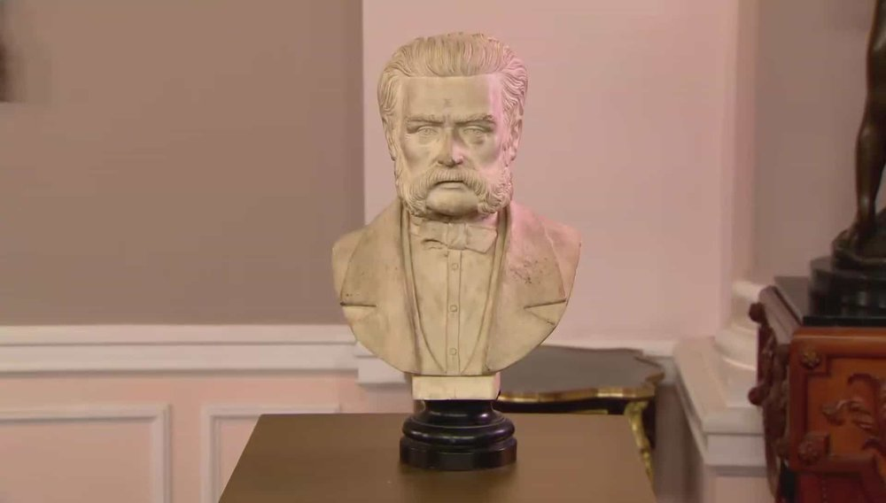 Marble Bust of Strauss Price: £250