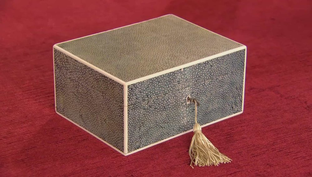 Shagreen Cigar Box Price: £2,250 Visit Hampton Antiques website