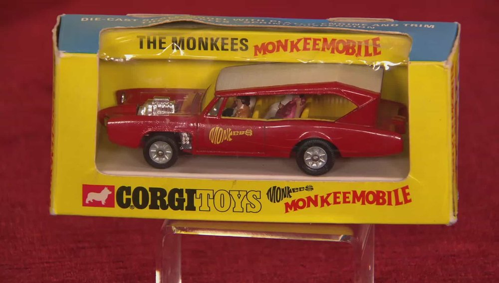Corgi Monkeemobile Car Price: £250 Visit RAM Collectible Toys website