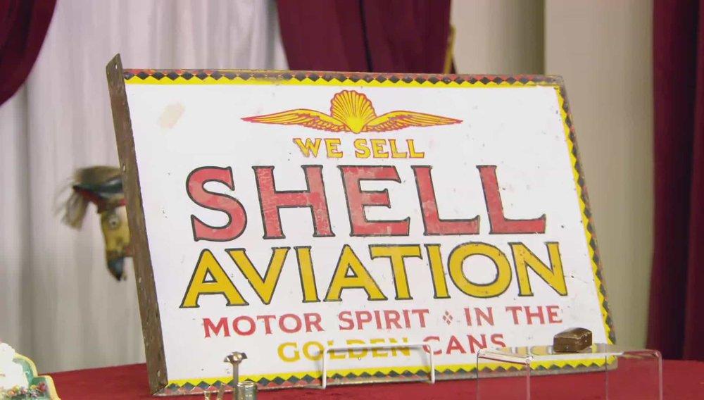 Shell Sign Price:£900 Visit UK Restoration website