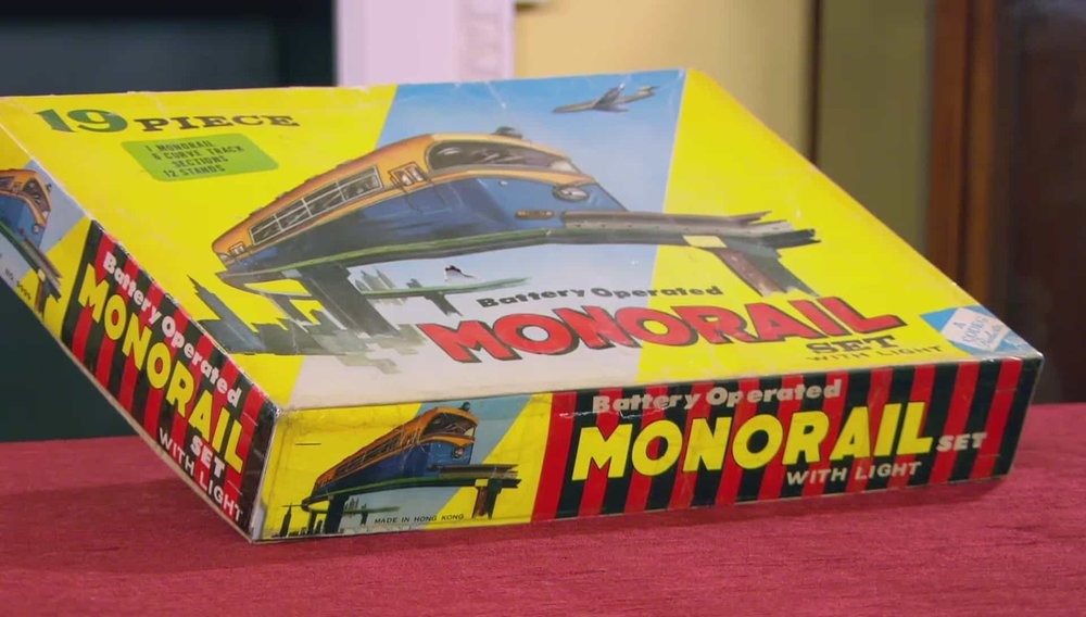 Monorail Set Price: £50 Visit RAM Collectible Toys