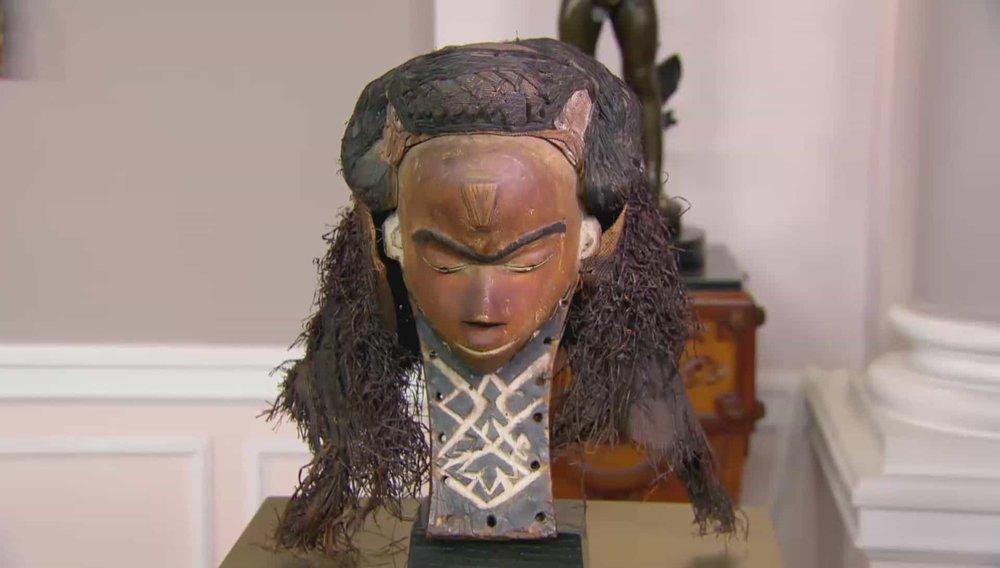 Pende Mask Democratic Republic Congo Price:£3,250 Visit Tribal Gathering London website