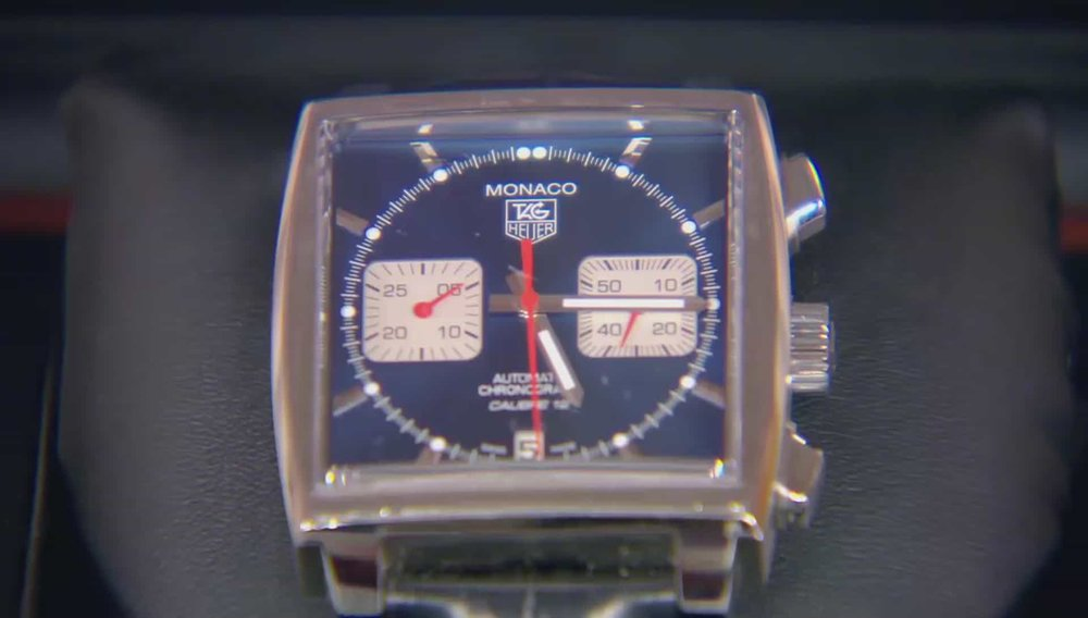 Tag Heuer Monaco Calibre 12 watch Price: £3,500 PRIVATE COLLECTOR