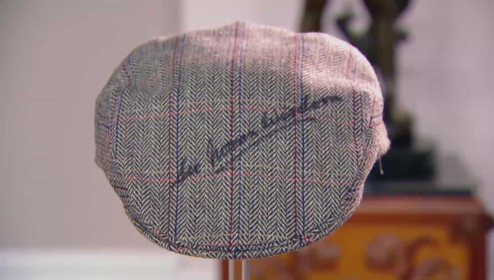 Norman Wisdom Signed Cap Price:£290 Visit Autographs website