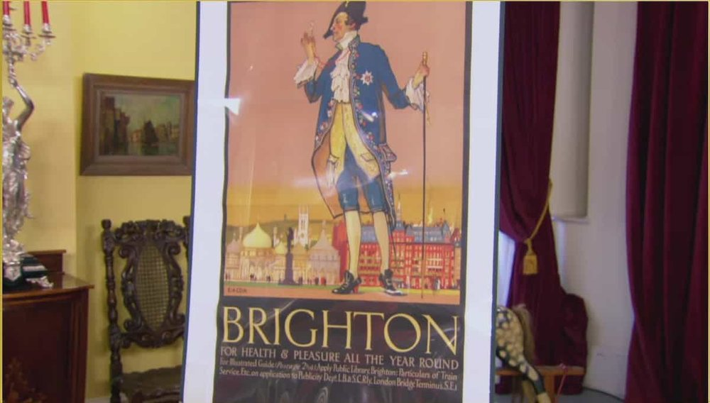 Brighton Sussex Cox Poster Price: £1,450 Visit Antikbar website