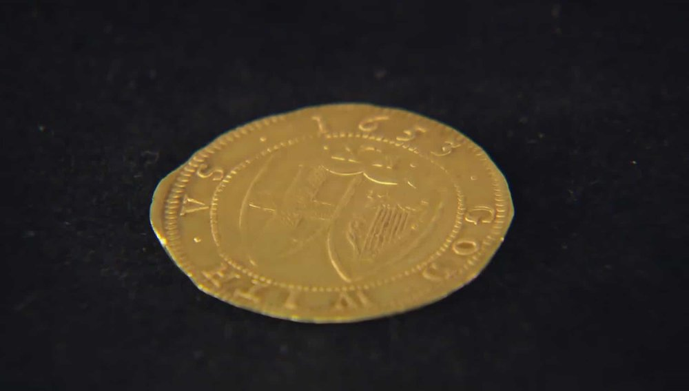 Commonwealth Gold Unite coin from 1653' Price: £10,000 Visit  A. H. Baldwin & Sons website