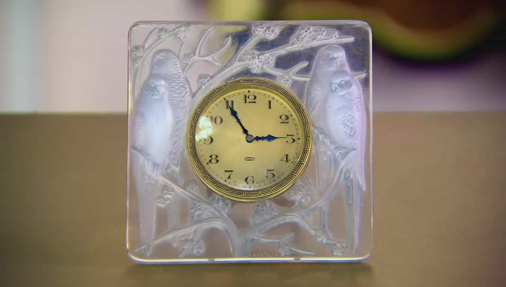 René Lalique Inseparables Clock Price: £3,350 Visit Jeroen MarkiEs website