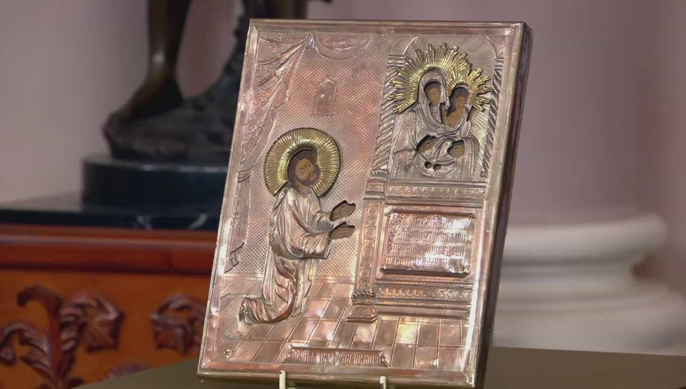 Russian Orthodox Religious Icon Price: £300