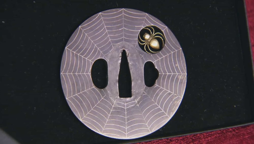 Japanese Sword Guard Price: £850 Visit Kevin Page website