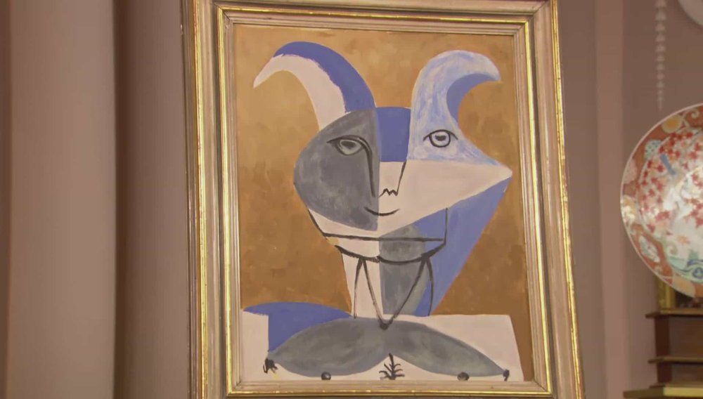 Picasso style painting Price: £150 PRIVATE COLLECTOR