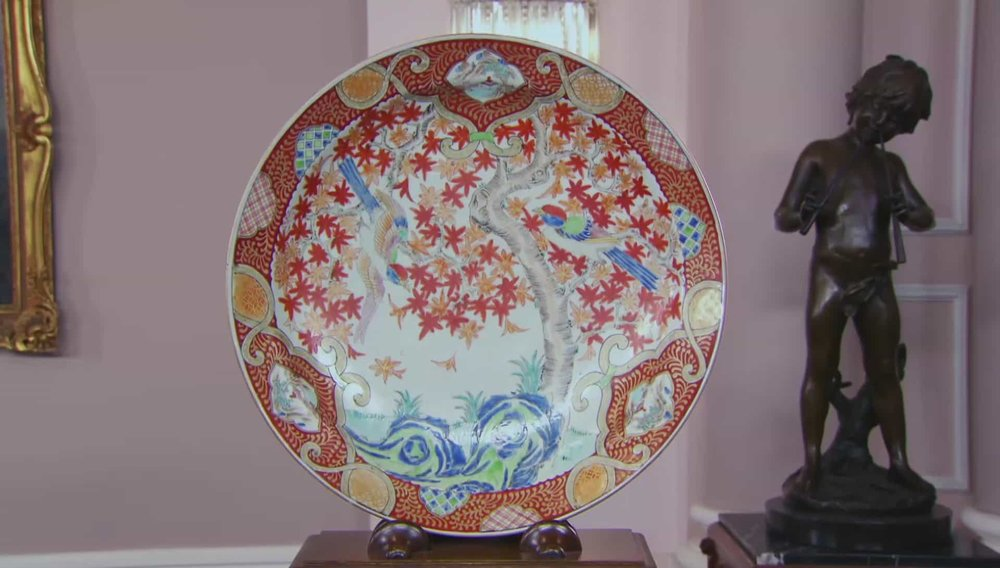 Japanese Plate Price: £350 PRIVATE COLLECTOR