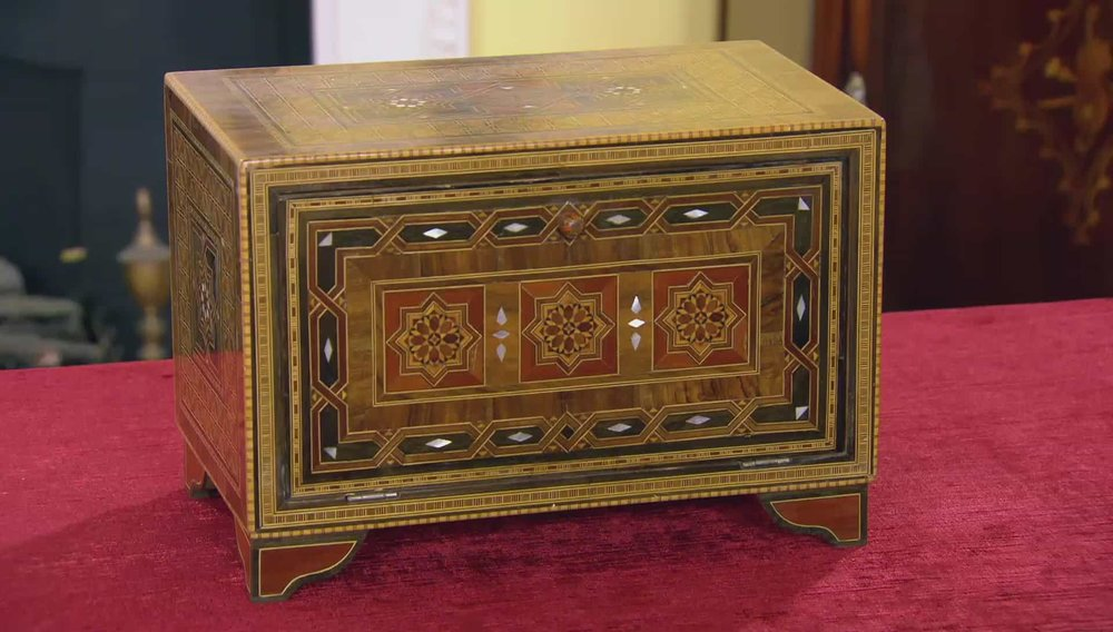 Damascus Islamic Table Cabinet Price: £780 Visit Regents website