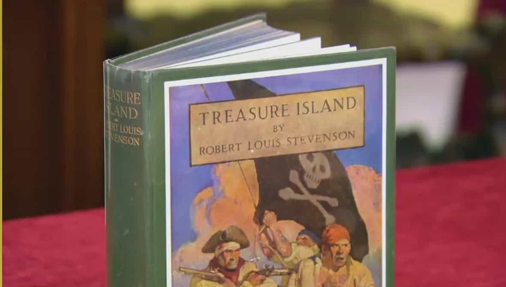 Treasure Island by Robert Louis Stevenson Price: £500 Visit Peter Harrington website