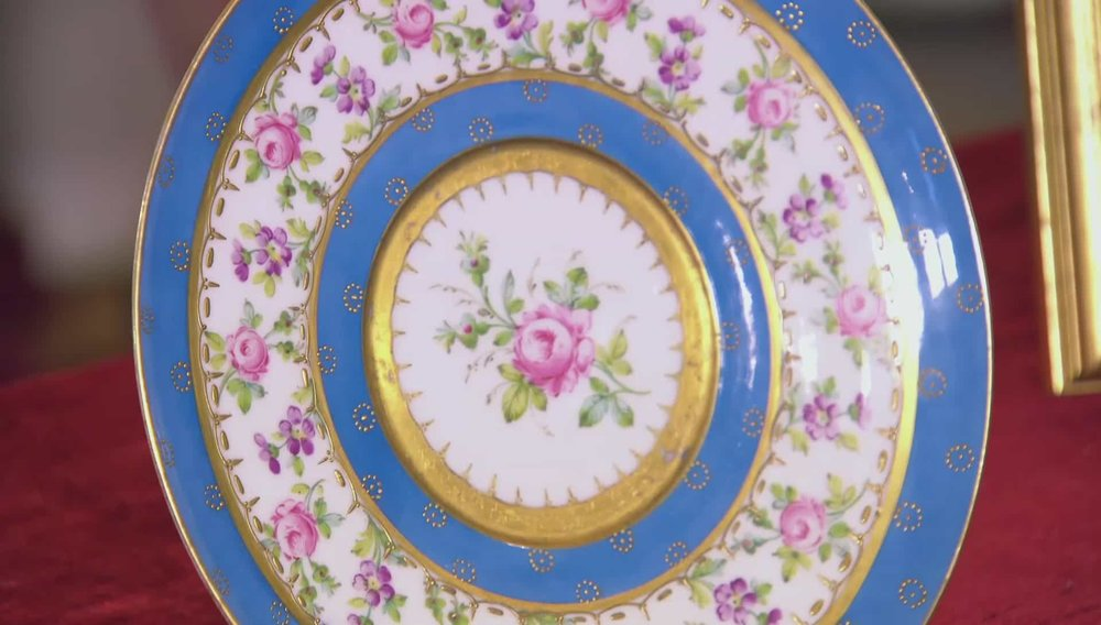 Sevres Porcelain Plate Price: £220 Visit Regents website