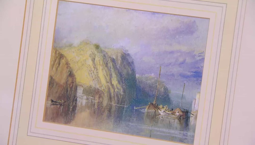 Turner Print Price: £50 PRIVATE COLLECTOR