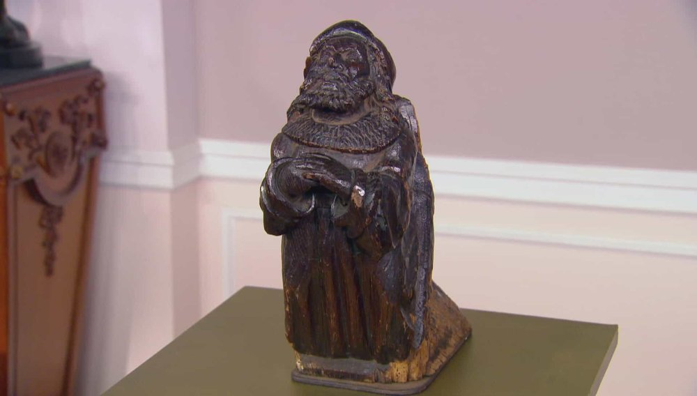 Corbel of Bearded Man in Prayer Price: £3,250 Visit Shaw Edwards Antiques website