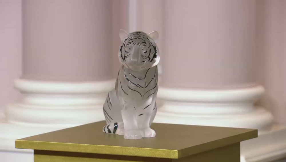 Lalique Tiger Price: £2,950 Visit Hickmet Fine Arts website