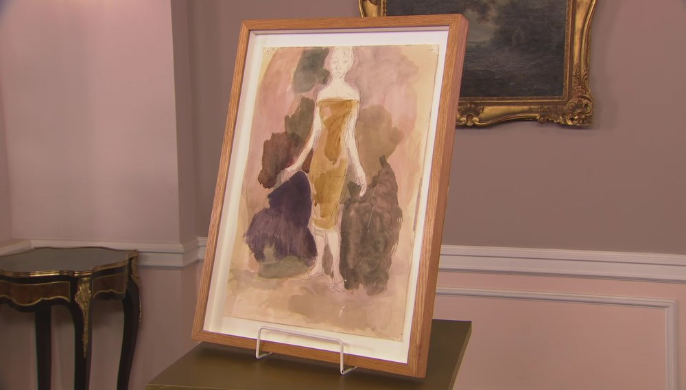 Painting of a Female Figure Price: £1,800 Visit Piano Nobile website