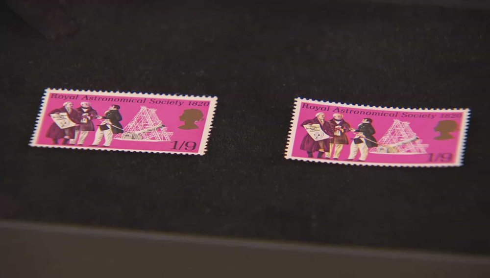 Plum Postage Stamp Price: £10,000 Visit Stanley Gibbons website