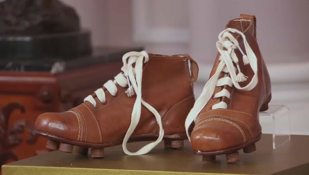 Vintage Football Boots Price: £240 Visit Manfred Schotten Antiques website