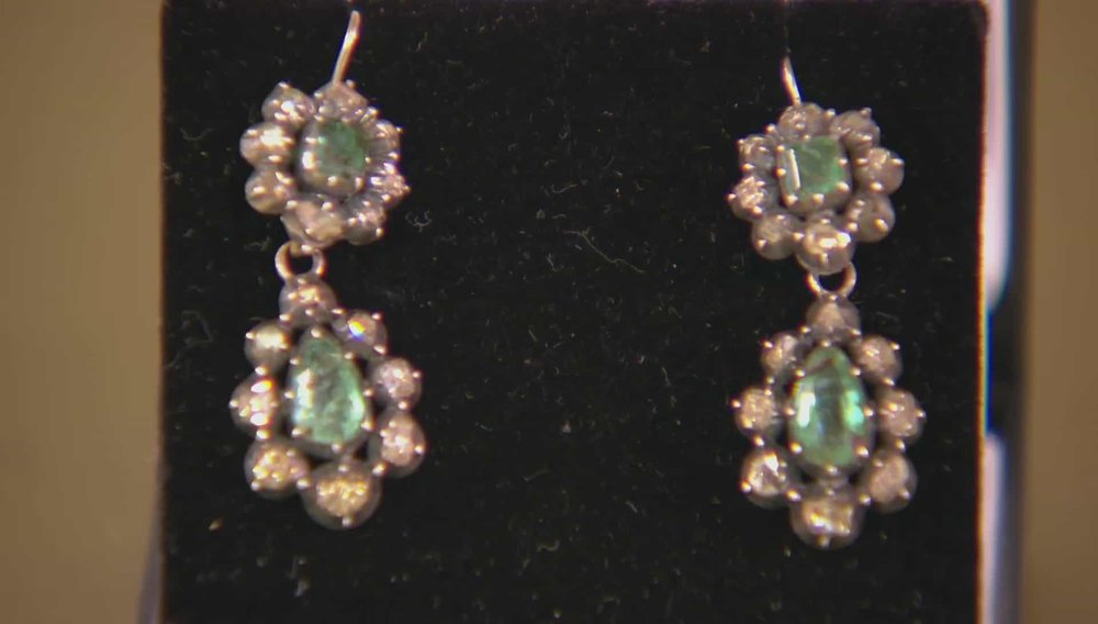 Georgian Earrings Price: £2,600 Visit Gareth Brooks at Alfie's Antiques website